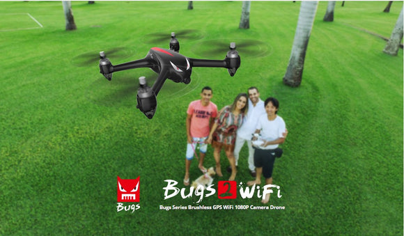 RTF BUGS2W DRONE with GPS& BRUSHLESS MOTOR