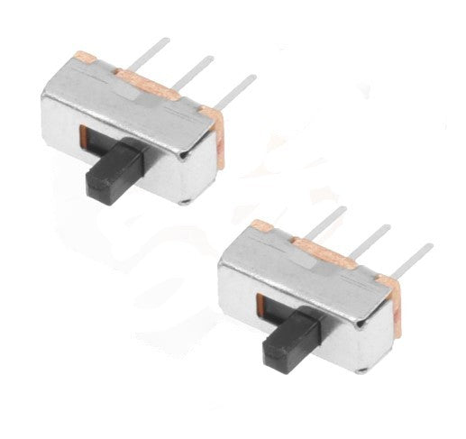 SLIDE SWITCH SMALL 8(L) x 11(H) x 4(W) mm 2PC