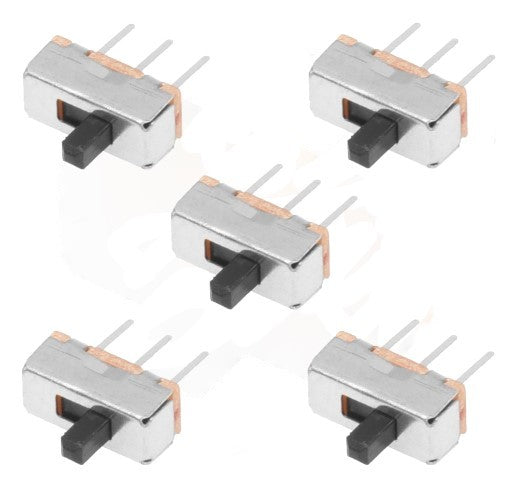 SLIDE SWITCH SMALL 8(L) x 11(H) x 4(W) mm 5PC