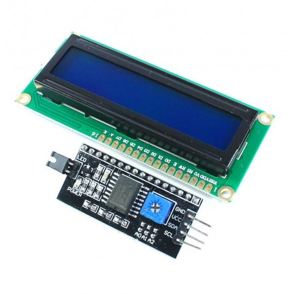 LCD 20X4 MODULE DISPLAY BLUE WITH I2C SERIAL INTERFACE