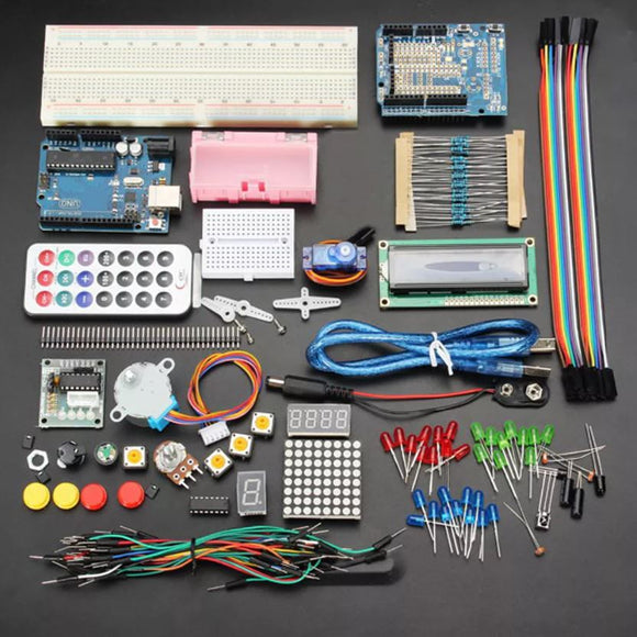 ARDUINO UNO R3 STARTER KIT WITH 16x2 LCD
