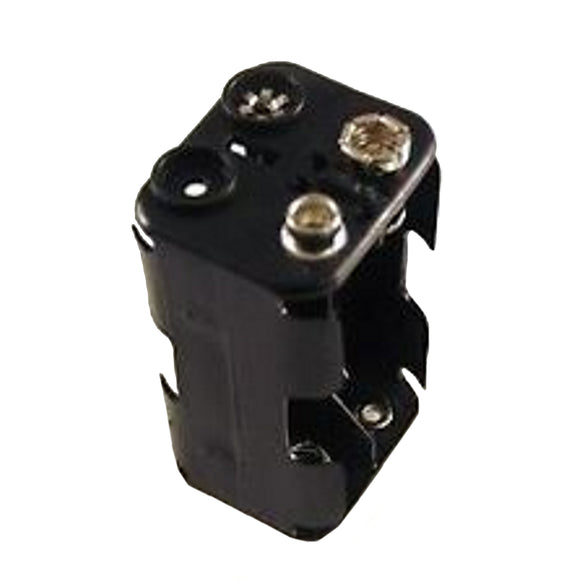 BATTERY HOLDER 4 X AAA SQR