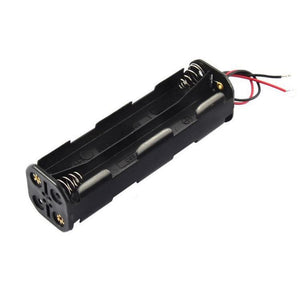 BATTERY HOLDER 8 X AA WIRED LONG