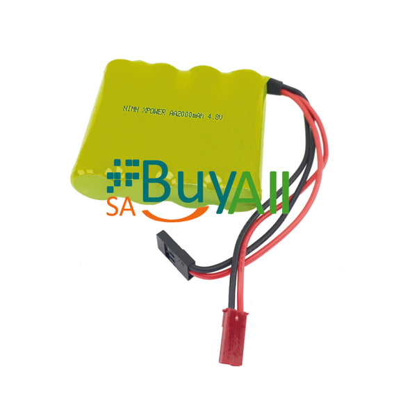 BATTERY 4.8V 2000mAh 4AA FLAT PACK XPOWER