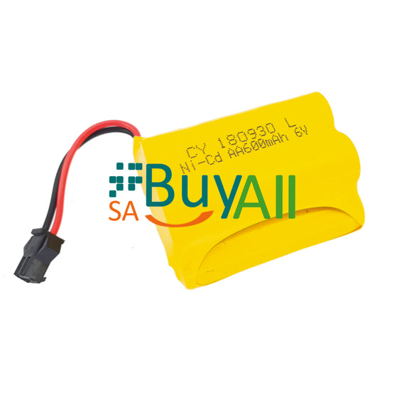 BATTERY 6V 600mAh 5AA HUMP PACK Q61