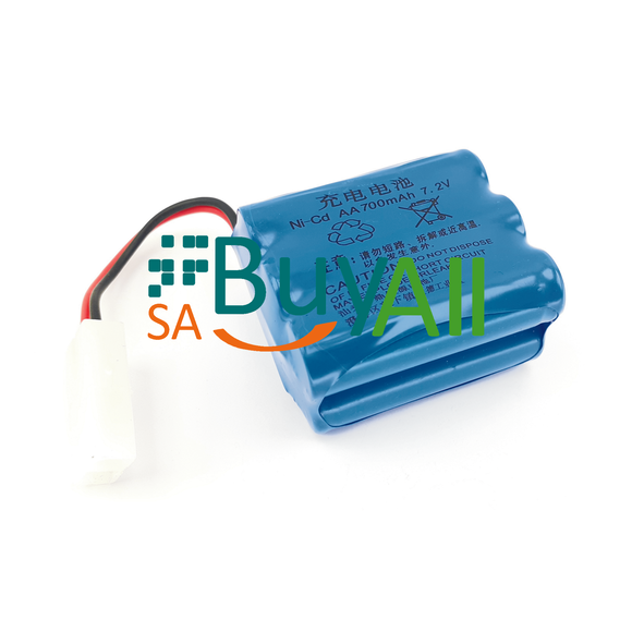 BATTERY 7.2V 700mAh AA Ni-Cd      23315B