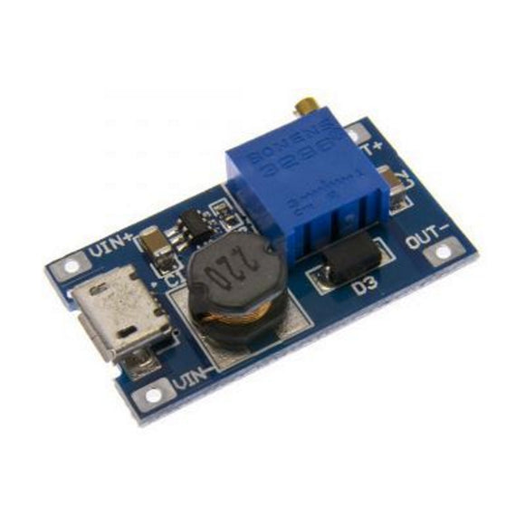 BUCK BOOST DC-DC 2A_2-24V USB Step-up