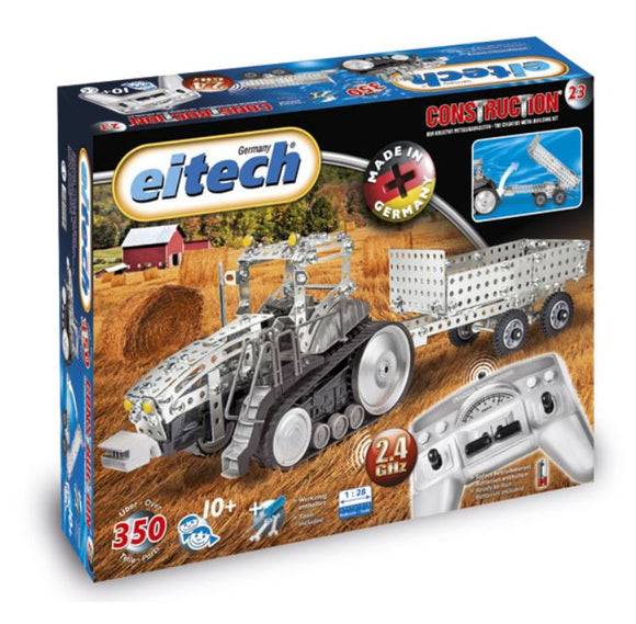METAL TRACTOR WITH TRAILOR RC KIT 23