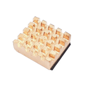 HEAT SINK PURE COPPER FOR PI4 13X12X5MM