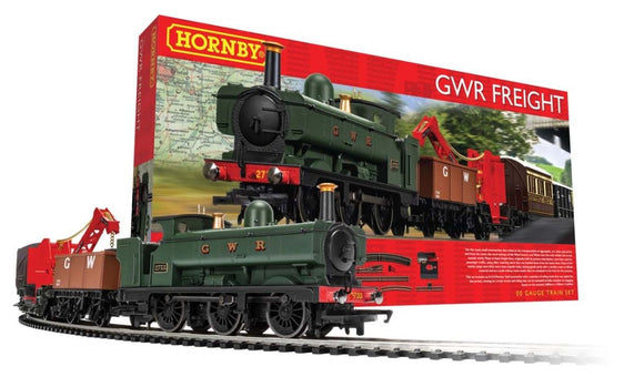 HORNBY GWR FREIGHT TRAIN SET