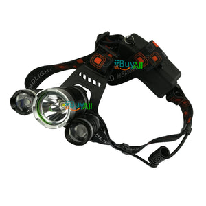 HEAD TORCH RECHARGEABLE FA3+1
