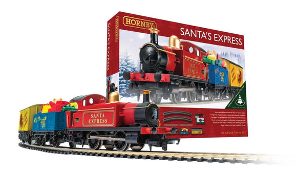 HORNBY TRAIN SET SANTAS EXPRESS