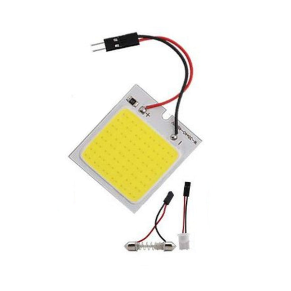 LED SMD AUTO READING SQ COB LED  with T10 1PC