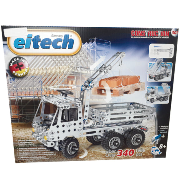 METAL TRUCK WITH CRANE KIT 301