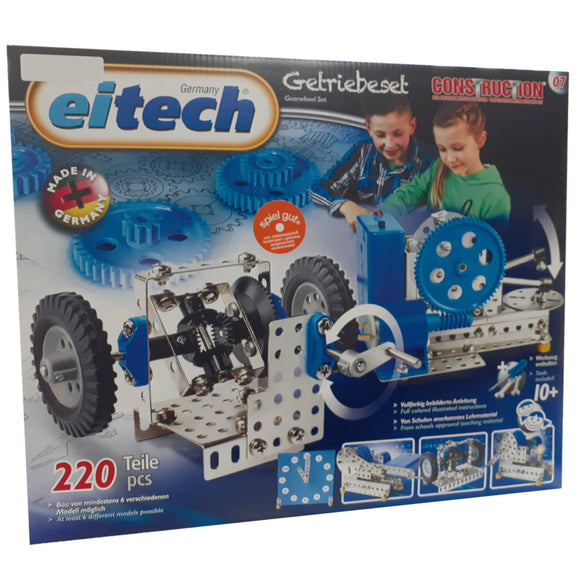 METAL GEARWHEEL MODEL SET 6 IN 1  KIT 07