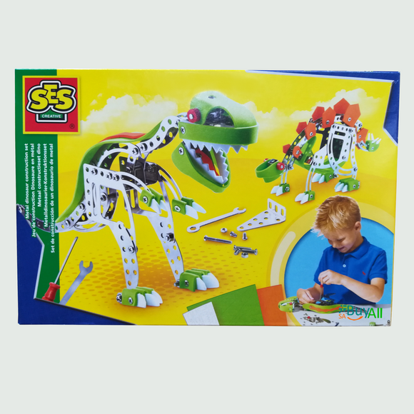 METAL DINOSAUR CONSTRUSTION KIT