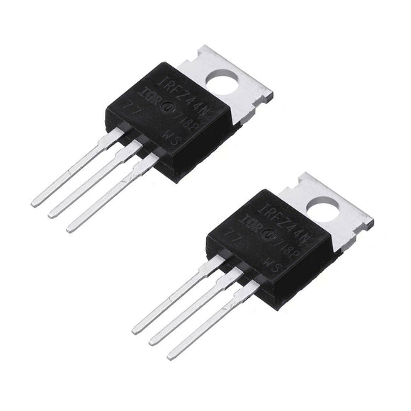 MOSFET IRFZ44N  N 55V 49A TO220 2PC