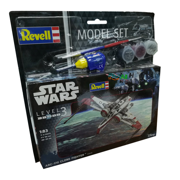 REVELL MODEL SET ARC-170 FIGHTER 1/83 (REV03608)