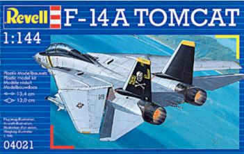 REVELL MODEL SET F-14A TOMCAT 1/144 (REV04021)