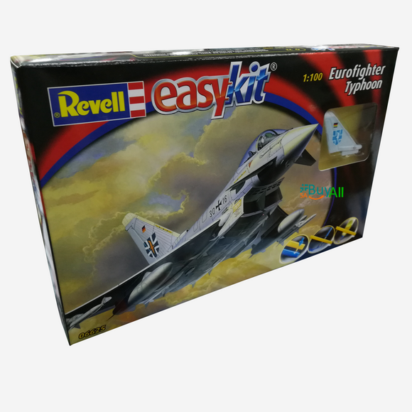 REVELL EASYKIT EUROFIGHTER TYPHOON 1/100 (REV06625)