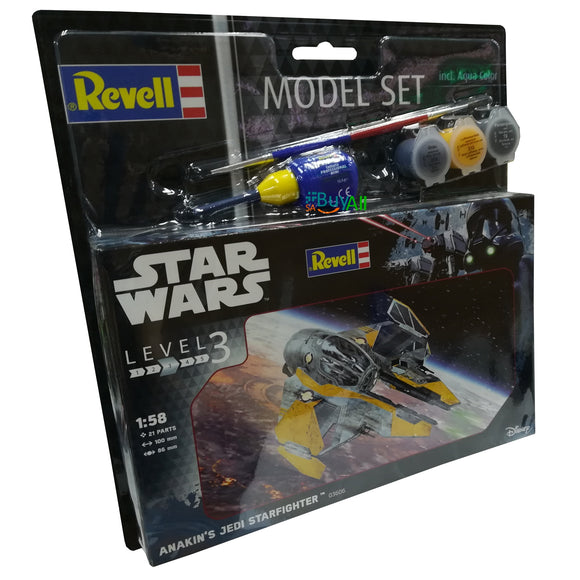 REVELL MODEL SET ANAKIN'S JEDI STAR FIGHTER 1/58 (REV63606)