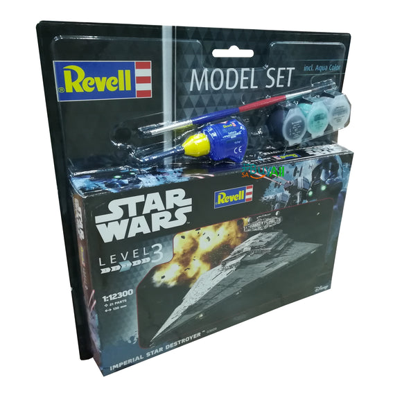 REVELL MODEL SET IMPERIAL STAR DESTROYER 1/12300 (REV63609)