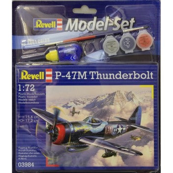 REVELL MODEL SET P-47M THUNDERBOLT 1/72 (REV63984)