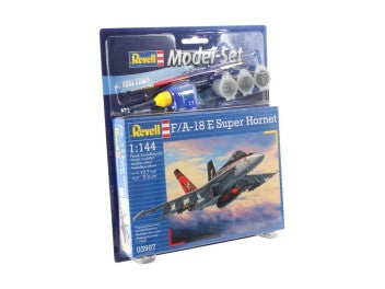 REVELL MODEL SET F/A18E SUPER HORNET 1/144 (REV63997)