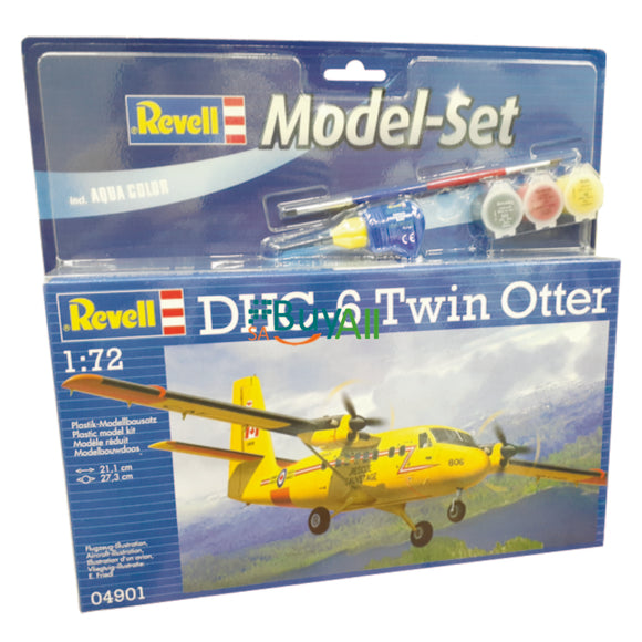 REVELL MODEL SET DHC-6 TWI OTTER 1/72 (REV64901)