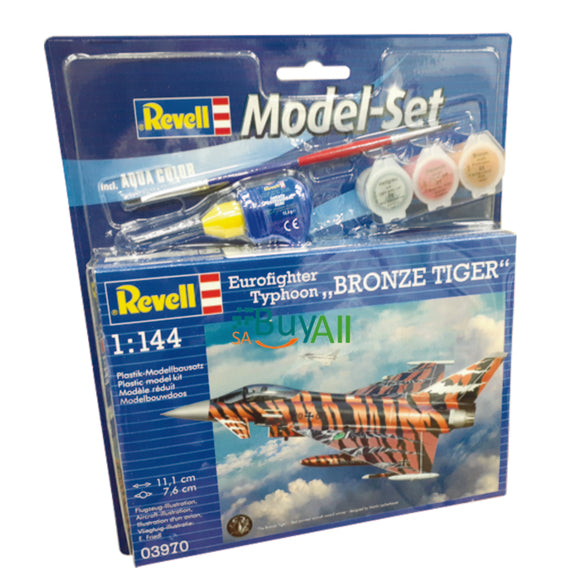 REVELL MODEL SET EUROFIGHTER BRONZE TIGER 1/144 REV63970