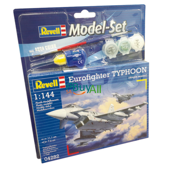 REVELL MODEL SET EUROFIGHTER TYPHOON 1/144 REV64282