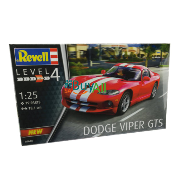 REVELL MODEL SET DODGE VIPER GTS 1/25 (REV07040)