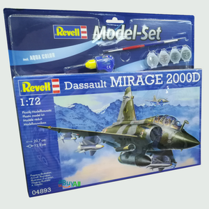 REVELL MODEL SET MIRAGE 2000D 1/72 (REV64893)
