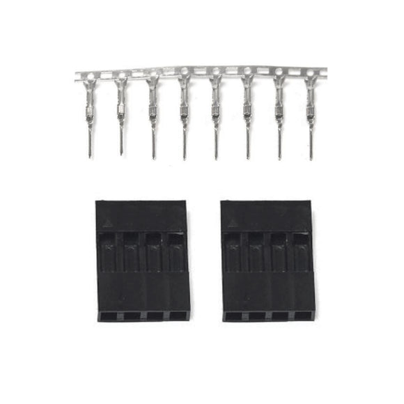 SIL CONNECTOR 4 WAY FEMALE 2PC
