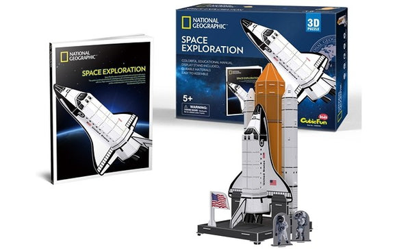 National Geographic - Space Exploration 65pcs 3D Puzzle