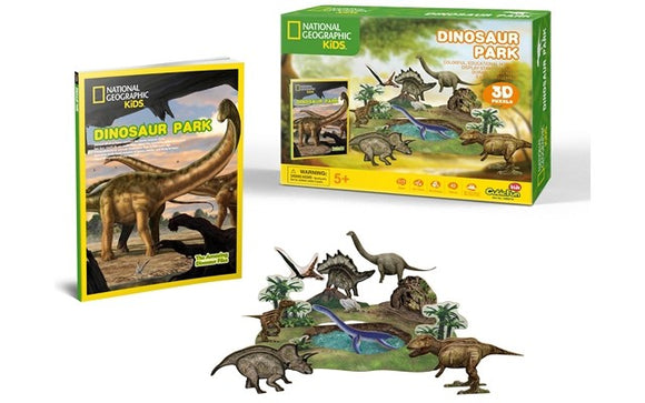 National Geographic - Dinosaur Park 43pcs 3D Puzzle