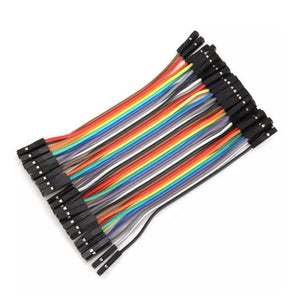 RIBBON JUMPER CABLE  FEMALE_FEMALE 40WAY 10CM