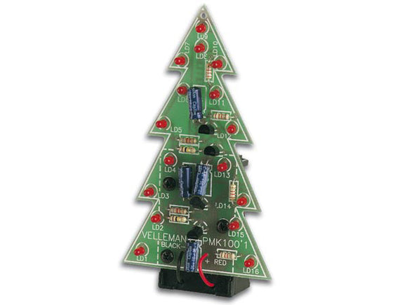 VELLEMAN MINI-KIT ELECTRONIC CHRISTMAS TREE MK100