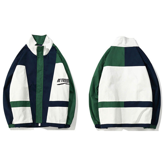 Retro Refusion Windbreaker