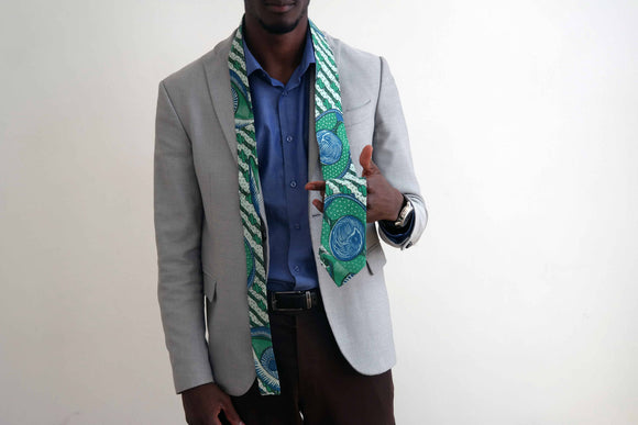 African fabric tie 6