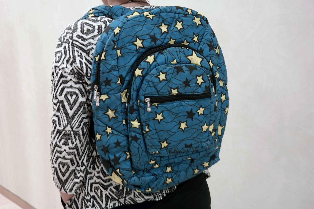 African ankara backpack 5