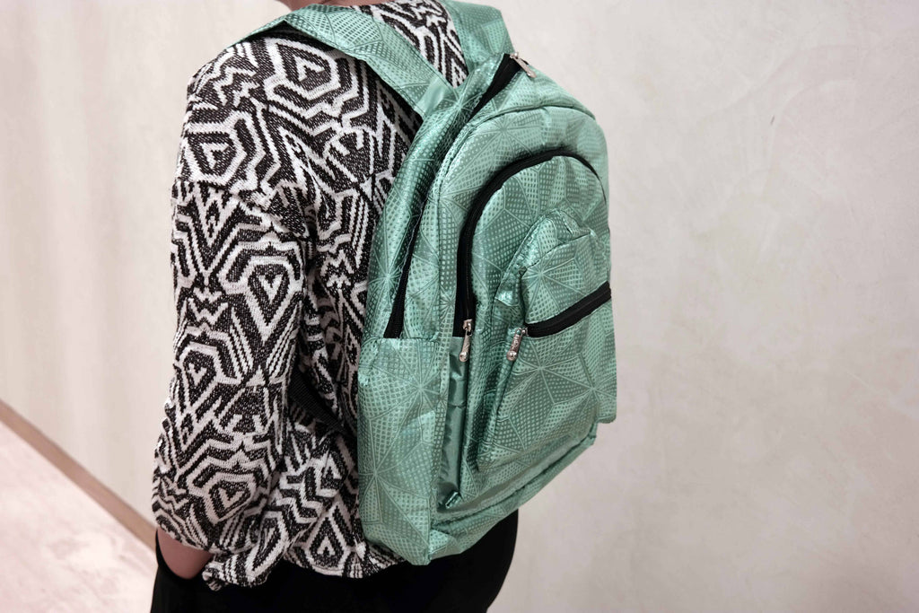African ankara backpack 2