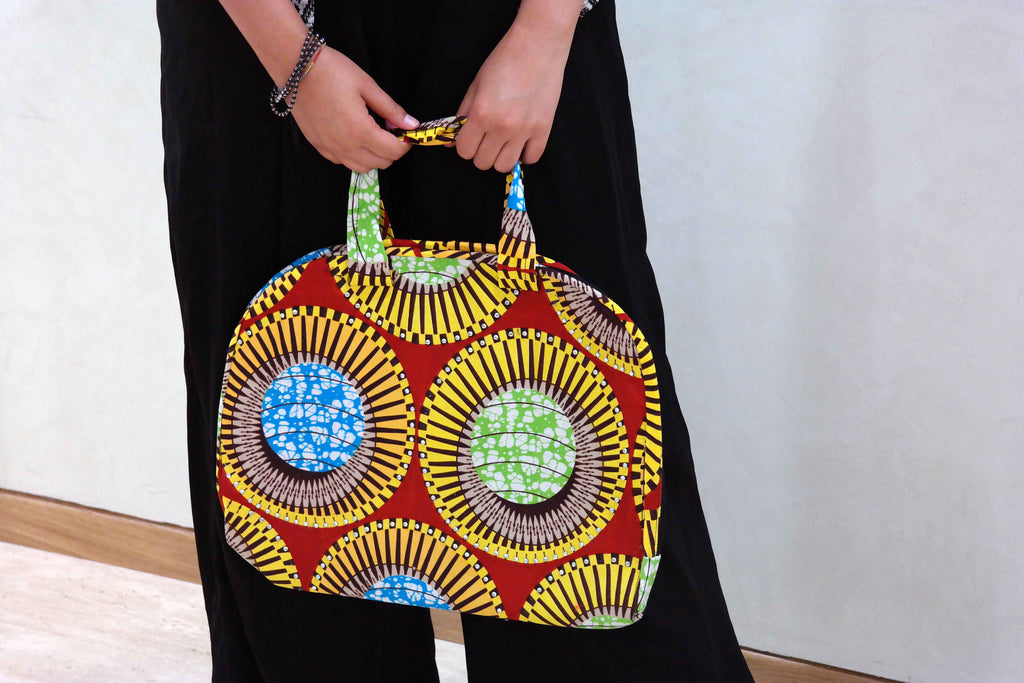 African ankara laptop bag 3
