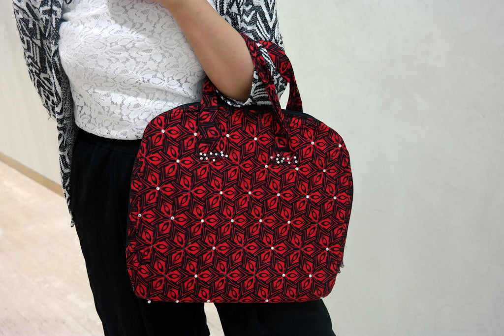 African ankara laptop bag 2