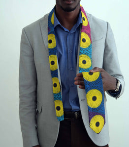 African fabric tie 5