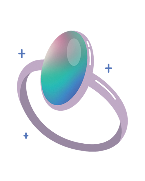 Mood Ring Illustration