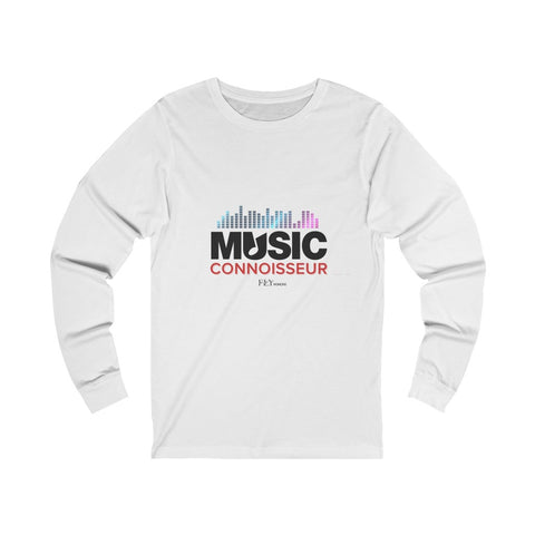 MUSIC CONNOISSEUR Unisex Jersey Long Sleeve Tee
