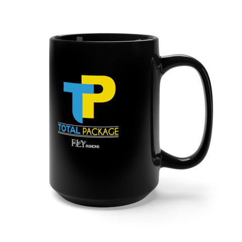 TOTAL PACKAGE FLY Black Mug 15oz
