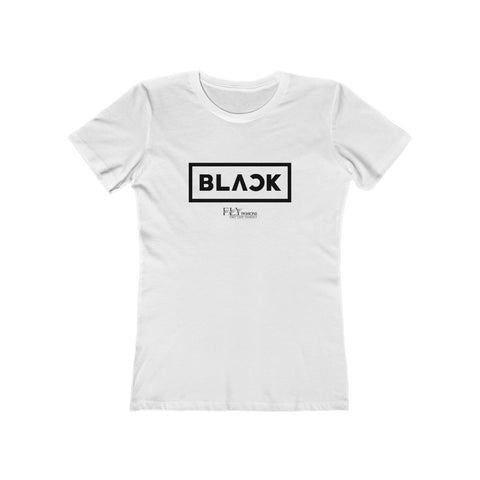 ALL BLACK FLY Women's The Boyfriend Tee