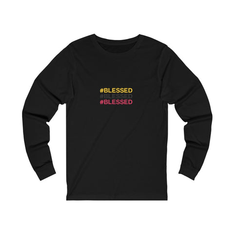 BLESSED FLY Unisex Jersey Long Sleeve Tee